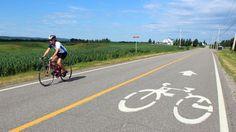 Cycling La Route Verte, Canada (Credit: Graeme Green)