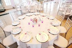 Silver Chiavari Chairs - Imperial ballroom.  Grand Plaza Resort, St Pete Beach, Florida wedding.    https://www.facebook.com/photo.php?fbid=10151541680406259=t.1205523431=1=1