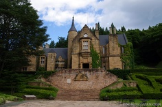 """Maybe you have seen this in a few jdramas or movies before?  The location is called """"Lockheart Castle"""" and you can find it in Numata City, Gunma Prefecture. Usually it's used for weddings!"""