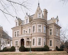 The chateauesque house was built in 1897. Such fine, bold architecture demands an informed approach to renovation.