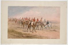 Burke and Wills Expedition / Samuel Thomas Gill. 2. Crossing Lodden Plains