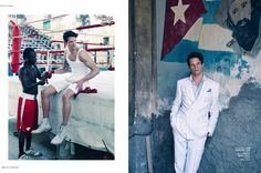 Photographer Viktor Flumé for Icon Magazine. Danny Beauchamp shot in Havanna, Cuba. #havanna #cuba #dannybeauchamp #hallundgren #iconmagazinese #viktorflume #fashion #photography
