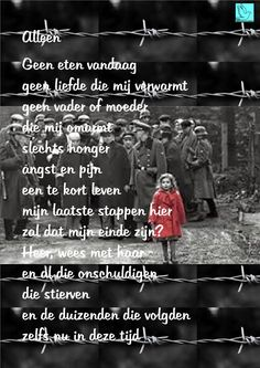 Alleen Een gedicht voor Dodenherdenking