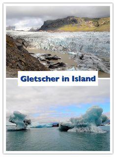 In Island kann man Fotos von riesigen Gletschern machen, wie hier im Skaftafell Nationalpark oder in der Jökulsarlon Gletscherlagune