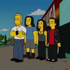 Metalica from the Simpsons