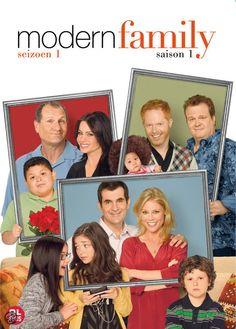 MODERN FAMILY, Seizoen 1 (Gezien en gevolgd op Netflix).