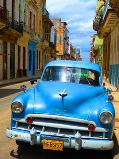 Cuba..Beep Beep...Re-pin brought to you by agents of #ClassicCarinsurance at #HouseofInsurance in #Eugene/Springfield Or.