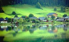 The beauty of reflection Pictures Of Beautiful Places, Nature Pictures, Amazing Places, Places Around The World, Around The Worlds, Central Europe, Lake Como, My World, Wander
