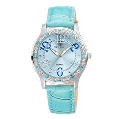 Skone Women's Watch Luxury Fashion Casual Quartz Watches Leather Sport Lady Wristwatches