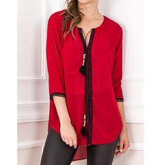 Γυναικεία αέρινη μπλούζα σε άνετη γραμμή για όλες τις ώρες.Shop now > www.primadonna.com.gr