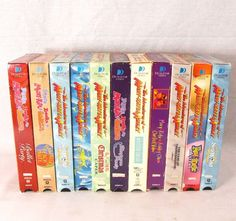 Mary-Kate and Ashley Olsen Lot of 10 VHS Videos Mystery Case Party Shows
