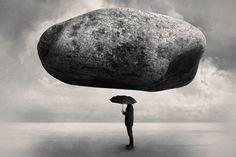 Surrealistic montage by Swedish photographer Tommy Ingberg