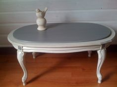 table basse style louis xv patinée à l'ancienne