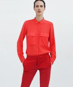 aymeline valade18 Aymeline Valade Dons Boyish Attire for Zaras June 2012 Lookbook