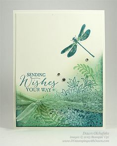 Awesomely Artistic card shared by Dawn Olchefske for DOstamperSTARS Thursday…