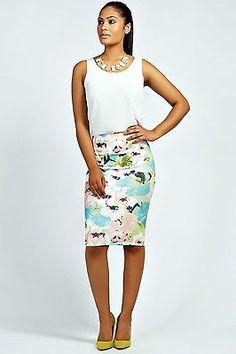 faldas estampadas elegante - Buscar con Google