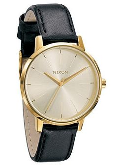NIXON Womens The Kensington Leather gold
