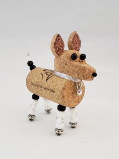 Dog Mom Gifts, Cat Gifts, Dog Lover Gifts, Gifts For Mom, Dog Lovers, Vet Tech Gifts, Black Dachshund, Rat Terrier Dogs, Wine Cork Ornaments