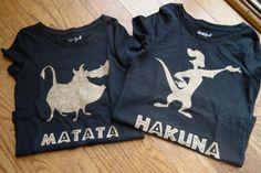 Davis and Lucian Disney Lion King Inspired Hakuna Matata shirt set; Timone and Pumba Silhouette t-shirt set Disney Inspired Outfits, Disney Outfits, Disney World Trip, Disney Trips, Disney Duos, Bff, Lion King Theme, Lion King Shirt, Disney Couple Shirts