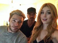 Dom, Alan and Kat
