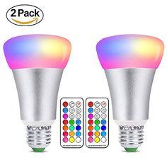 Superisparmio's Post 2 Smart Bulb  Lampadine LED Colorate E27 10W RGBW Dimmerabile Edison Cambiare Colore Lampadina con 21 Chiave Telecomando Funzione di Memoria Dual 12 scelte di colore  A solo 7.95 Invece di 15.99 #oneshotcode  KUQG-VZ98J4-N2KDKK   http://amzn.to/2sYqIAX