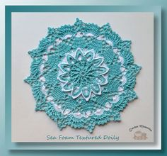 The Wednesday Link Party 243 – Featuring a Granny Square Wheel Blanket, Cabled Slippers and Textured Doily – The Stitchin Mommy Free Crochet Doily Patterns, Crochet Symbols, Crochet Motif, Stitch Patterns, Free Pattern, Filet Crochet, Crochet Hook Sizes, Thread Crochet, Crochet Hooks