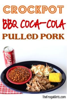 Crockpot BBQ Coca-Cola Pulled Pork Recipe