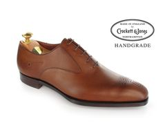 Crockett & Jones Rosemoor - Tan Antique Calf - have plenty of tan shoes at the moment but have a soft spot for these Tan Shoes, Oxford Shoes, Dress Shoes, Crockett And Jones, Calf Leather, Derby, Calves, Lace Up, Pairs