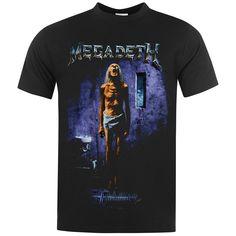 Official | Official Megadeth Band T Shirt | Megadeth