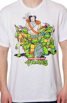 Ninja Turtles and Casey Jones Shirt