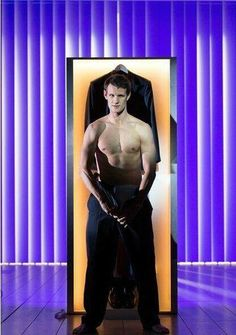 So, uh...this exists.  Matt Smith in the American Psycho musical.