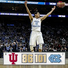North Carolina breaks 100 points for the 1st time in the Sweet 16. UNC will rematch ND for a spot in the Final Four #MarchMadness #LetsMarch