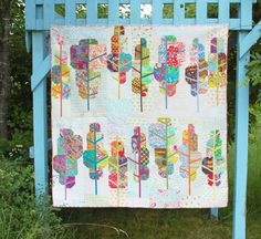 Painted Forest -- A Fresh New Urban Folk Pattern from Blue Nickel Studios