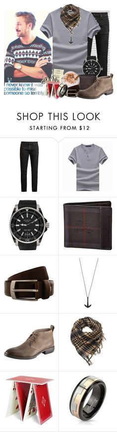 """""""Innocent Dreams"""" by grimalkim ❤ liked on Polyvore featuring MasterCraft Union, Gucci, Burberry, Renato Balestra, MIANSAI, Andrew Marc, West Coast Jewelry, men's fashion and menswear"""