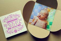 Half His Half Hers: Brynn Birth Announcement