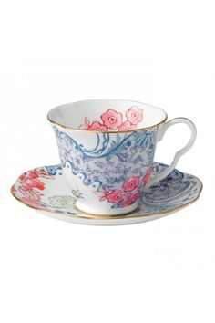 Gorgeous Wedgewood cup and saucer.