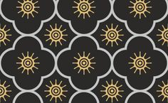 Fabric pattern fromthe Indian Collection. Based on «The Grammar of Ornament» by Owen Jones