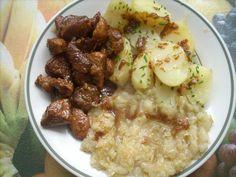 Výpečky z remosky Potato Salad, Potatoes, Beef, Chicken, Ethnic Recipes, Meat, Potato, Steak, Cubs