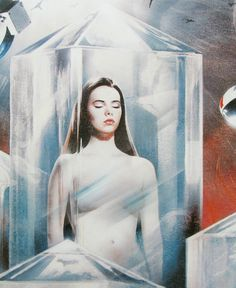 Mathilda May - Alien vampire from the movie Lifeforce | Sci-Fi ...