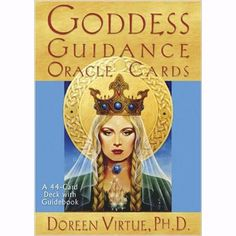 A stunning 44-card deck and guidebook from Doreen Virtue that focuses on the sacred feminine. Every card features unique, full-color artwork plus a goddess' name and core statement with an inspiration