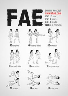 Fae Workout (Friday L1)