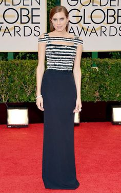 Allison Williams Golden Globes 2014