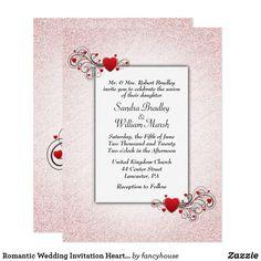 Romantic Wedding Inv