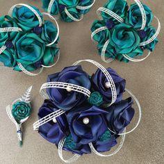 Paua bridal wedding bouquets created from flax flowers. Flax Weaving, Flax Flowers, Wedding Bouquets, Bridal, Collection, Bride, Brides, Wedding Flowers, Wedding Bouquet
