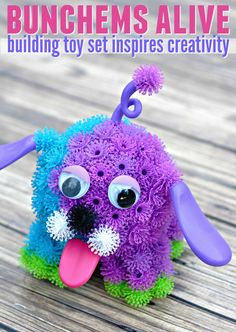Are you looking for a fun new building toy set to inspire creativity in your child? Then check out Bunchems alive and see what creations they can dream up! @spin_master  #BunchemsAlive #CG