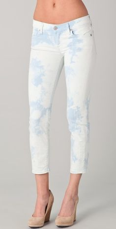 7 For All Mankind Roxanne Cropped Jeans