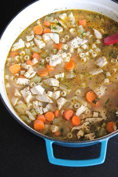 Weeknight Chicken Noodle Soup - Picky Palate