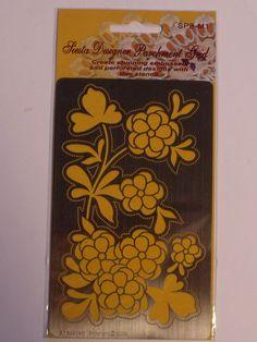 "SIESTA MEDIUM DESIGNER PARCHMENT GRID- 01      Medium Parchment Designer Grid 3.5"" x 5.5"" (85 X 140mm)"