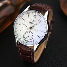 Luxury Quartz Men's Wristwatch