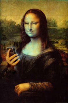 Mona Lisa smartphone                                                                                                                                                                                 Más